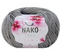 Пряжа Nako Fiore 11239 серый