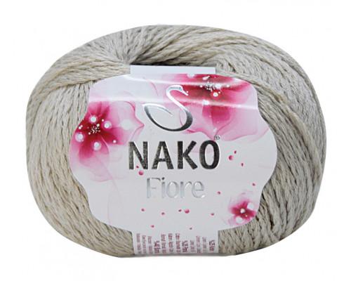 Пряжа Nako Fiore 10969 бежевый