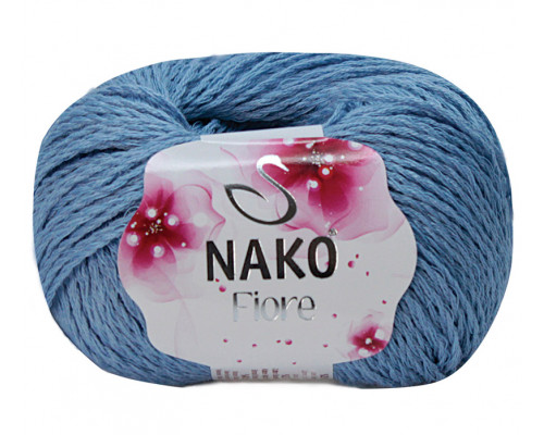 Пряжа Nako Fiore 11244 синий