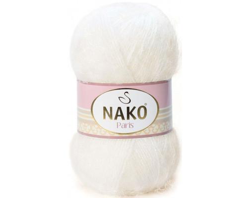 Пряжа Nako Paris 300 молочный