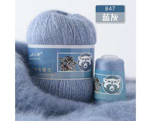 Пух норки, 847 сине-серый