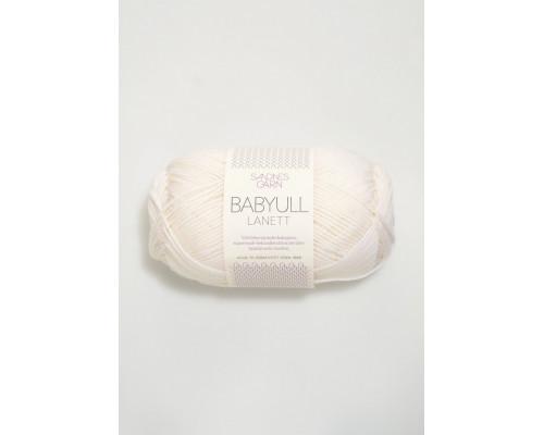Пряжа Babyull Lanett, 1001