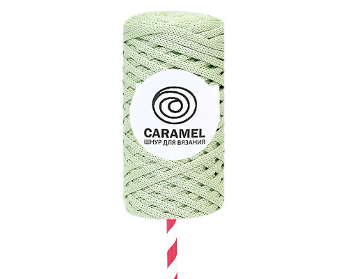 Полиэфирный шнур Caramel, цвет Фисташка