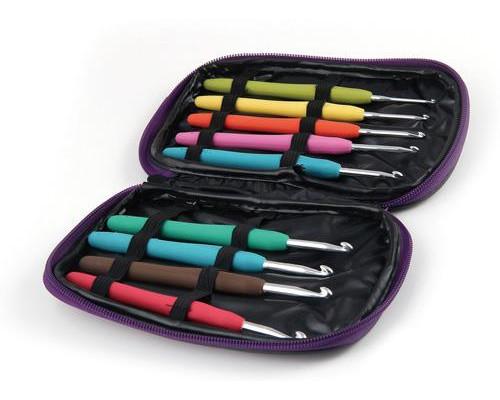 Набор алюминиевых крючков Maxwell с эргономичной ручкой арт. MAXW.62785 (2.0-6.0 мм)