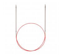 Спицы никелированные круговые с удлиненным кончиком, №3,5 50 см