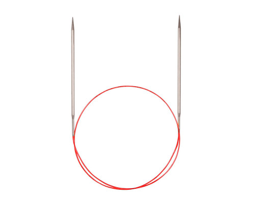 Спицы никелированные круговые с удлиненным кончиком, №3,25, 80 см