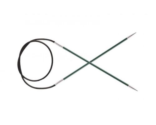 Knit Pro Спицы круговые Zing 3мм/40см, алюминий