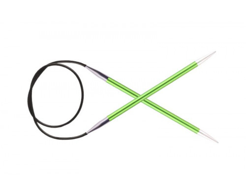 Knit Pro Спицы круговые Zing 3,5мм/40см, алюминий