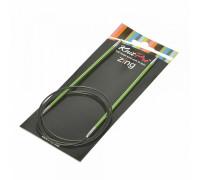 Knit Pro Спицы круговые Zing 3,5мм/100см, алюминий