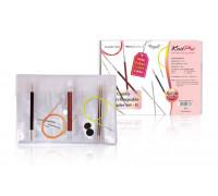 "Knit Pro Набор съемных спиц ""Comby Interchangeable Sampler Set II"" 3 вида спиц"