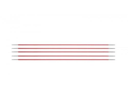 Knit Pro Спицы чулочные Zing 2мм/20см, алюминий, 5шт