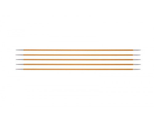 Knit Pro Спицы чулочные Zing 2,25мм/20см, алюминий, 5шт