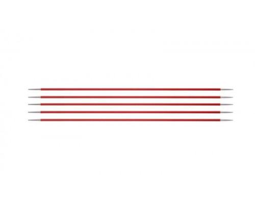 Knit Pro Спицы чулочные Zing 2,5мм/20см, алюминий, 5шт