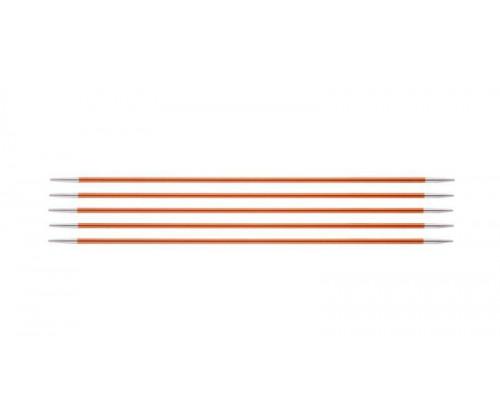 Knit Pro Спицы чулочные Zing 2,75мм/20см, алюминий, 5шт