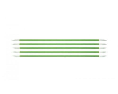 Knit Pro Спицы чулочные Zing 3,5мм/20см, алюминий, 5шт