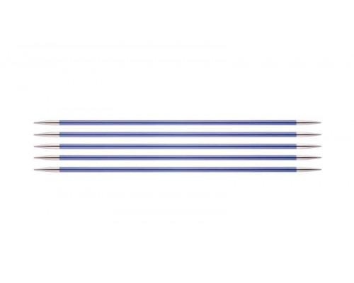 Knit Pro Спицы чулочные Zing 4,5мм/20см, алюминий, 5шт