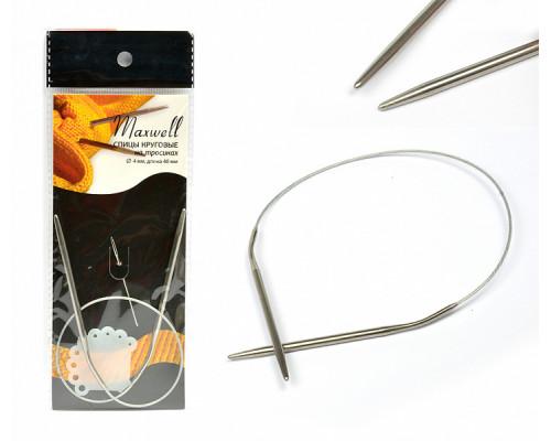 Спицы круговые на тросиках Maxwell d=4,0 мм 40 см