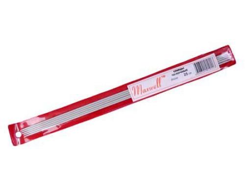 Спицы для вязания чулочные Maxwell Red (Тефлон) арт.ТВ Ø3,0 мм /25 см (5 шт)