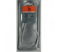 PONY Спицы круговые 4,00 мм/100 см, алюминий