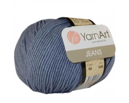 Пряжа Yarnart Jeans (Ярнарт Джинс) 68