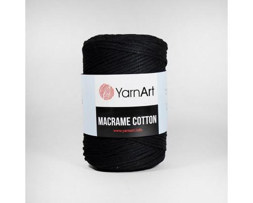 Пряжа Macrame Cotton, 750-черный