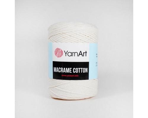 Пряжа Macrame Cotton, 752-молочный