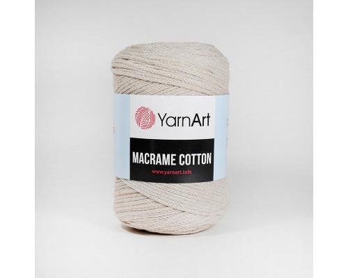 Пряжа Macrame Cotton, 753-св.бежевый