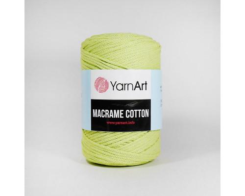 Пряжа Macrame Cotton, 755-салат