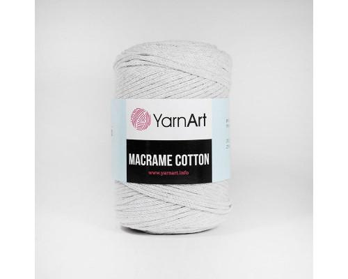 Пряжа Macrame Cotton, 756-св.серый
