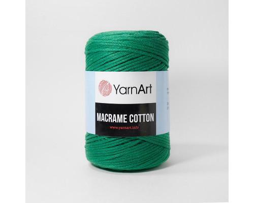Пряжа Macrame Cotton, 759-зеленый