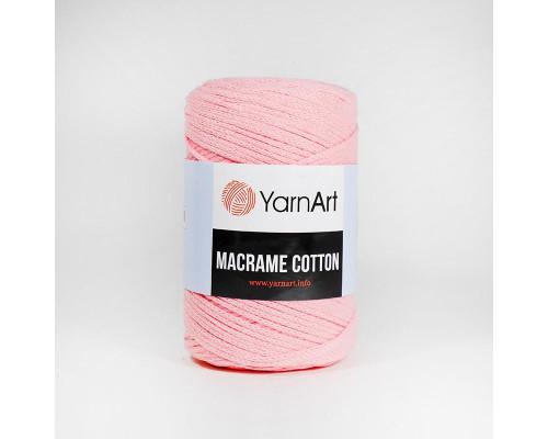 Пряжа Macrame Cotton, 762-розовый