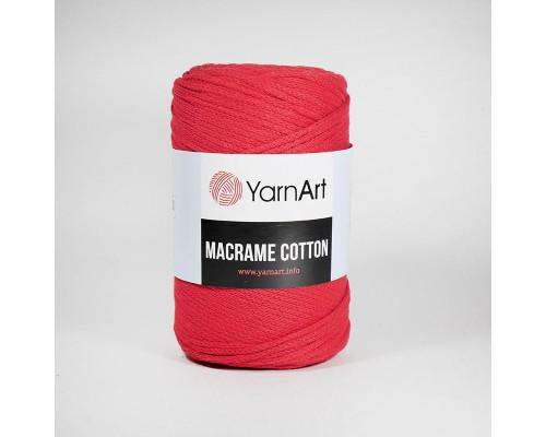 Пряжа Macrame Cotton, 773-красный