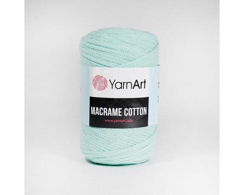 Пряжа Macrame Cotton, 775-мятный