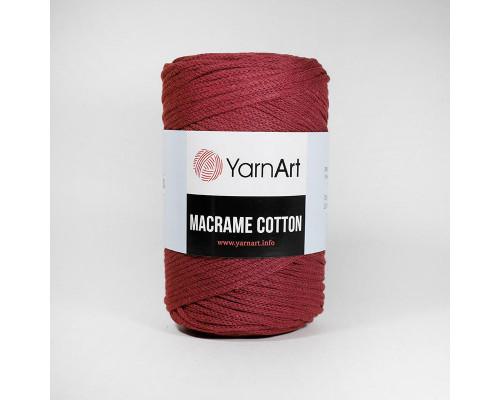 Пряжа Macrame Cotton, 781-бордо