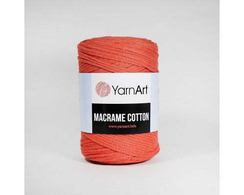 Пряжа Macrame Cotton, 785-коралл