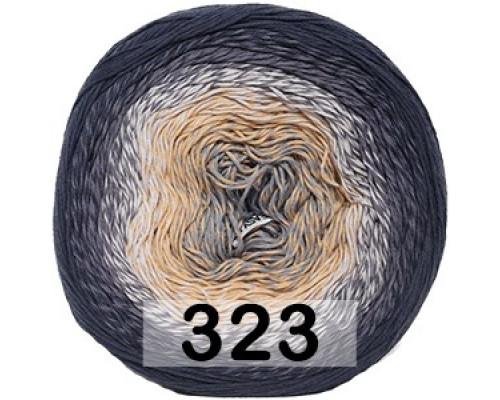 Пряжа Yarnart Rosegardan, 323